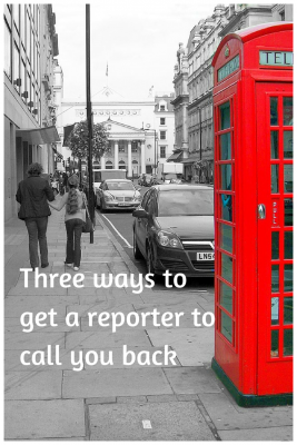 Trying to get the attention of a reporter?  These three steps cut through the noise