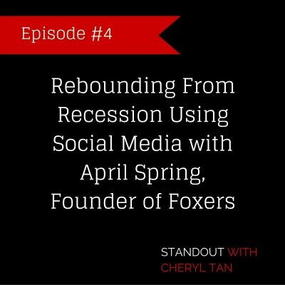 4: Rebounding from recession using social media with April Spring
