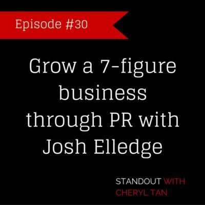 Grow a 7-figure business through PR with Josh Elledge