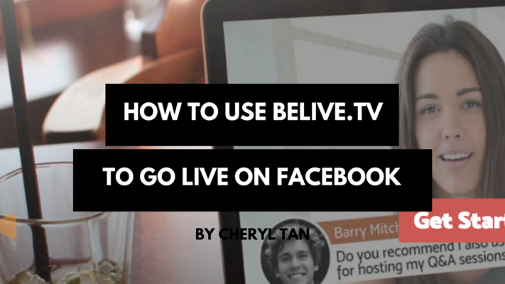 How To Use BeLive.TV To Go Live On Facebook