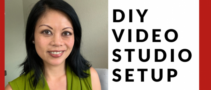 DIY Video Studio Setup - Cheryl Tan Media